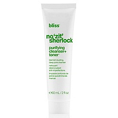 Bliss - No Zit Sherlock Purifying Cleanser & Toner 60ml