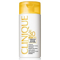 Clinique - 'Mineral sunscreen' fluid for body SPF30 125ml