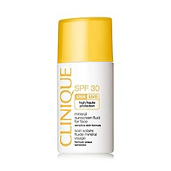 Clinique - 'Mineral sunscreen' SPF 30 fluid for face 30ml