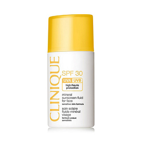 Clinique - +Mineral sunscreen+ SPF 30 fluid for face 30ml