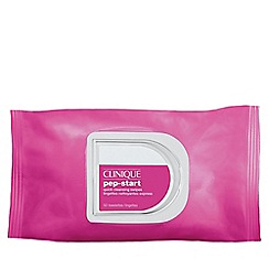 Clinique - 'Pep-Start' cleansing wipes