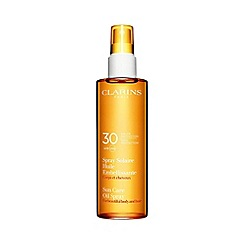 Clarins - 'Sun Care' UVB and UVA 30 oil spray 150ml