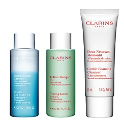 Clarins - 'Cleansing Kit' for normal/combination skin