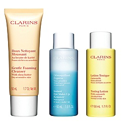 Clarins - 'Cleansing Kit' for dry/sensitive skin