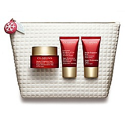 Clarins - 'Super Restorative Collection- Replenishing & Plumping Essentials' Christmas gift set