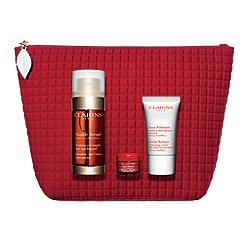 Clarins - 'Double Serum Edit- Anti-Aging & Radiance Essentials' Christmas gift set