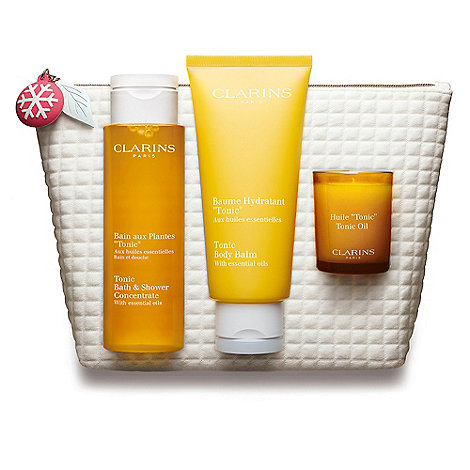 Clarins Aroma Body Care Collection Spa At Home Christmas Gift Set Debenhams
