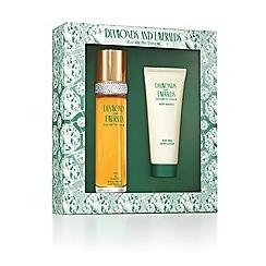 Elizabeth Arden - 'White Diamonds Emeralds' eau de parfum 100ml gift set