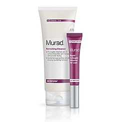 Murad - Refreshing Cleanser and Rapid Collagen Infusion for Lips Duo