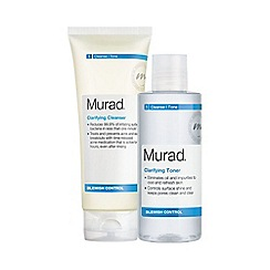 Murad - 'Clarifying' cleanser and toner duo