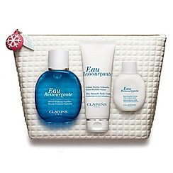 Clarins - 'Eau Ressourçante Collection- Serenity, Freshness, Replenish' Christmas gift set