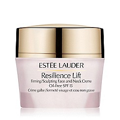 Estée Lauder - Resilience Lift Firming/Sculpting Face and Neck Creme Oil-Free SPF15 50ml