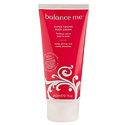 Balance Me - Super Toning Body Cream 200ml