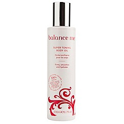Balance Me - Super Toning Body Oil 200ml