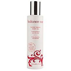 balance me - Super toning body oil 200ml