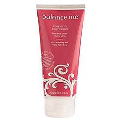 Balance Me - Rose Otto Body Cream 200ml