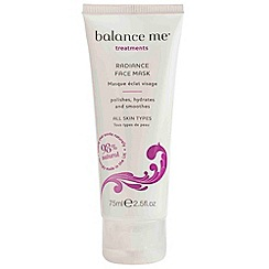 Balance Me - Radiance Face Mask 75ml