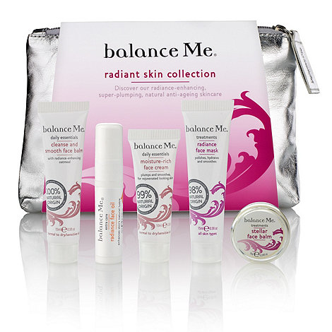 balance me - Radiant skin collection gift set
