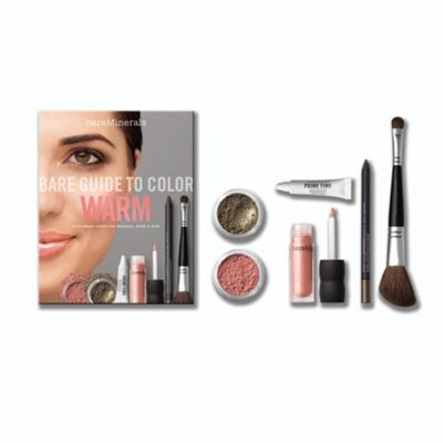 bareMinerals Bare Guide To Color: Warm Gift Set
