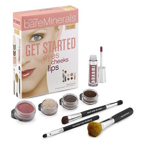 bareMinerals - Get started: eyes, cheeks, lips gift set