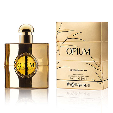 Yves Saint Laurent - Limited edition +Opium+ gold collector eau de parfum