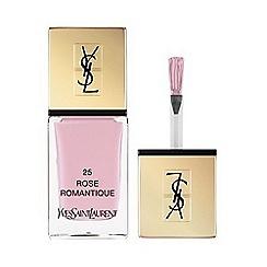 Yves Saint Laurent - La Laque Couture in 25 Rose Romantique