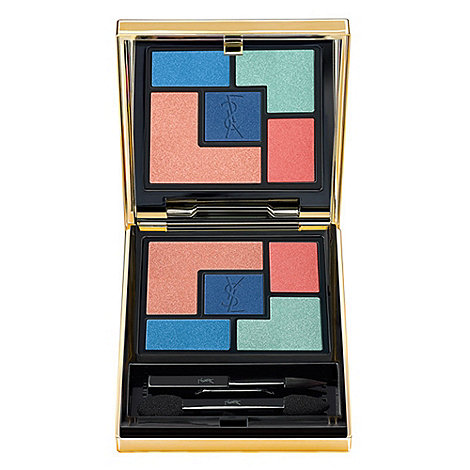 Yves Saint Laurent - +Bleus Lumière+ for summer 2014 eye shadow palette 5g
