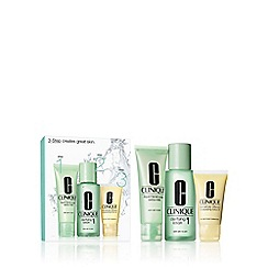 Clinique - 3 Step Intro Kit Skin Type 1 Gift Set