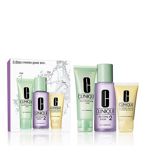 Clinique - 3 Step Intro Kit Skin Type 2 Gift Set