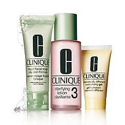 Clinique - '3 Step Introduction' skincare gift set