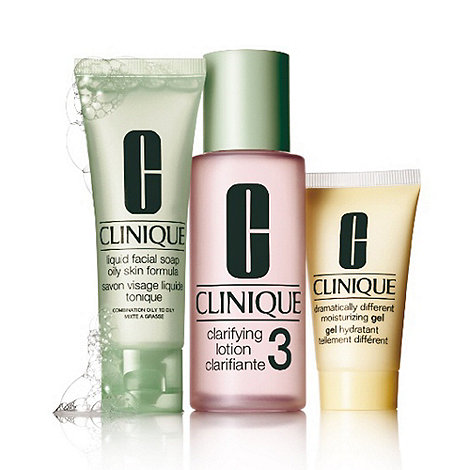 Clinique - 3-Step introduction kit skin type 3 gift set