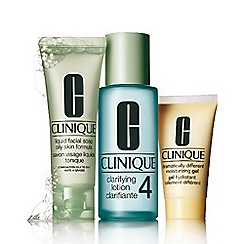 Clinique - 3-Step introduction kit skin type 4 gift set