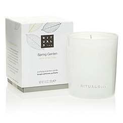 Rituals - Spring Garden relaxing scented candle 290g