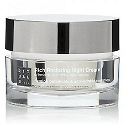 Rituals - Restoring night cream 50ml