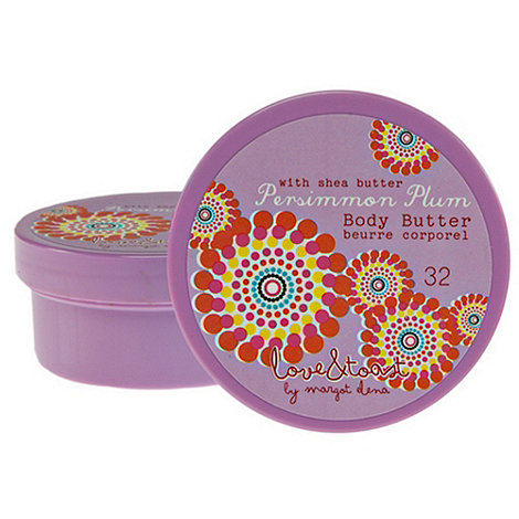 Love & Toast - +Persimmon Plum+ purse size body butter 56g