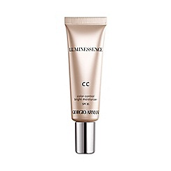 ARMANI - 'Luminessence' CC colour control bright moisturiser 30ml