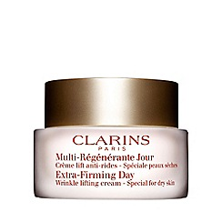Clarins - 'Extra-Firming' day wrinkle lifting cream for dry skin 50ml