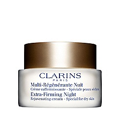 Clarins - 'Extra-Firming' night rejuvenating cream for dry skin 50ml