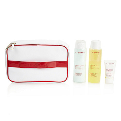 Clarins - Facial cleansing set for normal or dry skin gift set
