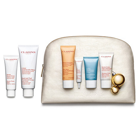 Clarins - +Top-To-Toe Pampering+ face and body care gift set