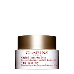 Clarins - Vital light day illuminating anti-ageing comfort cream for dry skin 50ml