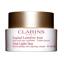 Clarins - Vital light day illuminating anti-ageing cream for all skin types 50ml