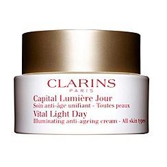 Clarins - Vital Light Day Illuminating Anti-Ageing Cream 50ml - for all skin types