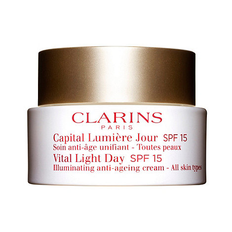Clarins - Vital Light Day Illuminating Anti-Ageing Comfort Cream 50ml - for all skin types SPF 15