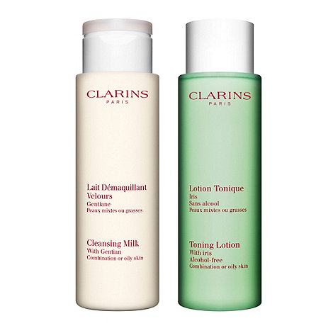Clarins - Cleansing Duo For Combination/Oily Skin