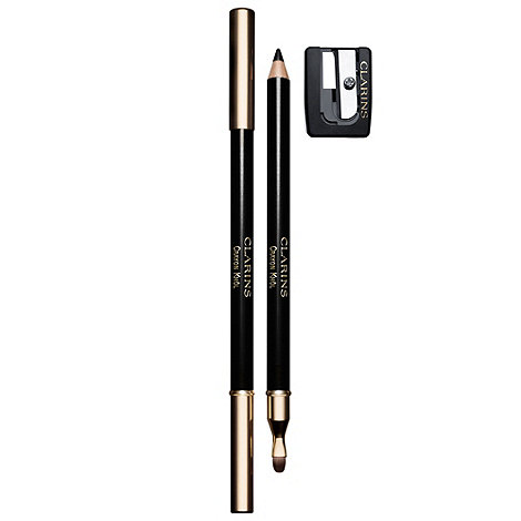 Clarins - Crayon Khol Long-Lasting Eye Pencil 01 Intense Black with Sharpener 1.05g
