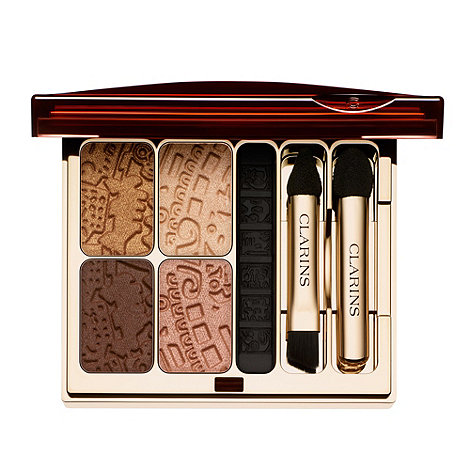 Clarins - Splendours Colour Quartet & Liner Eye Palette 4.9g