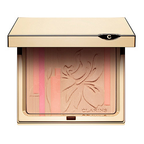 Clarins - Limited Edition Palette Eclat Face & Blush Powder- Collector Face Palette 10g