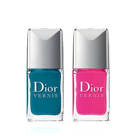 DIOR - Dior Vernis Bird of Paradise - Summer Nail Lacquer Duo - Bahia