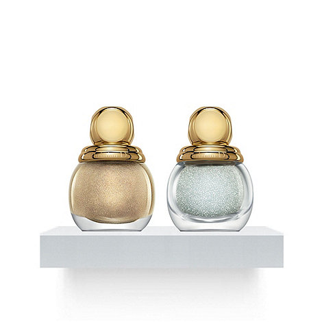 DIOR - Duo Manucure Bijoux - Gold nail lacquer base & crystal pearls 12ml
